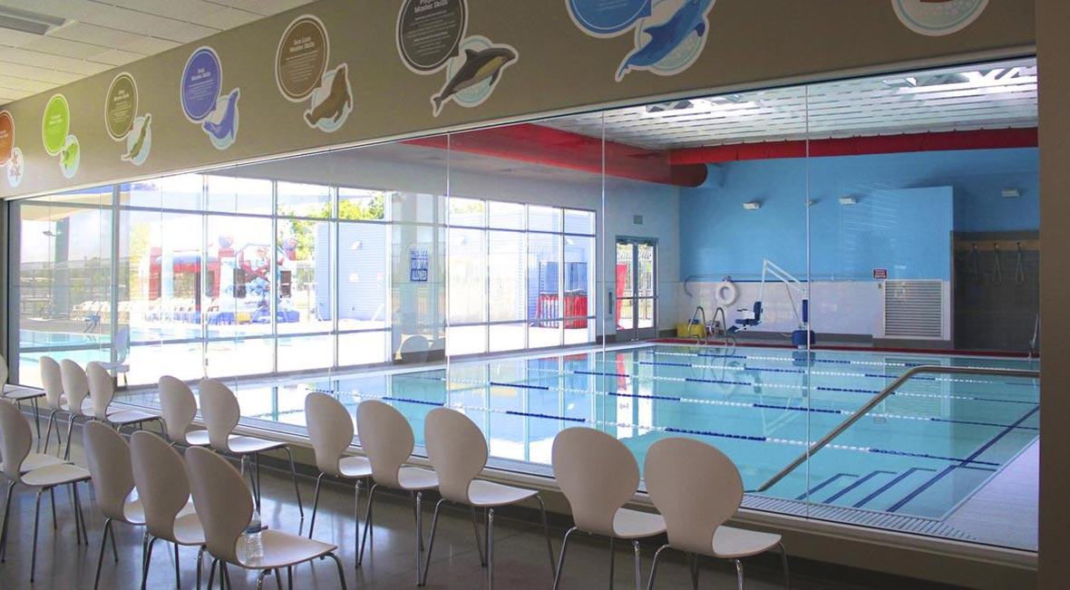Evo swim school gilbert a r mays construction Half olympic size swimming pool dimensions