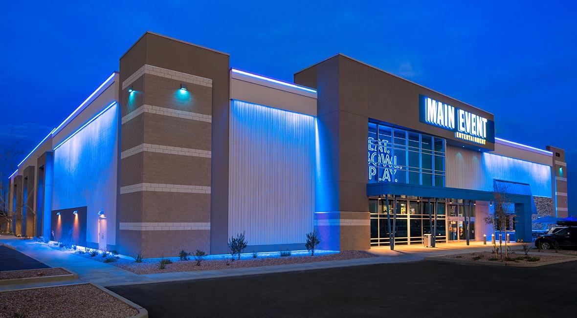 Main Event Entertainment - Gilbert | A.R. Mays Construction