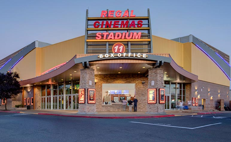 Completed - Regal Cinemas - Willamette Town Center 11 | A R  Mays